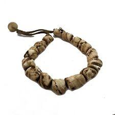 "Naga Sacred Conch Chank Shell 22"" Necklace Tibetan Nepalese Handmade  UN1816"