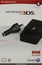 Nintendo 3DS Official Executive Protector Case Car Charger Screen Protector Kit