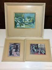 Set of 3 vintage Pablo Picasso prints