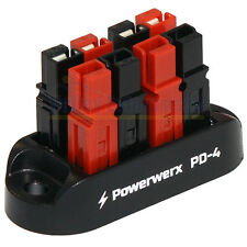 4 Position Power Distribution Block for 15/30/45A Powerpole Connectors PD-4