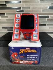 Marvel Spiderman Smart Interactive Touch Screen Watch w Camera Games Alarm Video