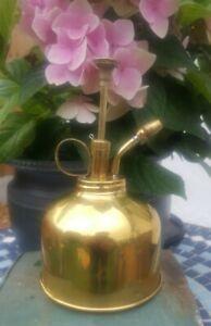 Vintage 333 Brass, Plant Spray , Mister , Atomizer No 107 Good Working Condition