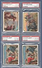 1909 1910 T53 Hassan Cowboy Series PUTTING ON THE BLIND  PSA 4  Low Price!