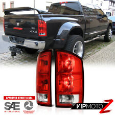 2002-2006 Dodge Ram 1500 2500 3500 Driver Left Tail Lights Lamps Passenger Right