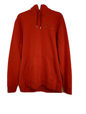 Men's Red Under Armour Charged Cotton Storm Coldgear Hoodie XL