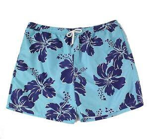 Polo Ralph Lauren Men's Swimwear Blue Size 2XLT Big & Tall Trunks $89 118