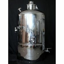 50 gallon stainless milk can sanitary moonshine e85 water boiler still column 4""
