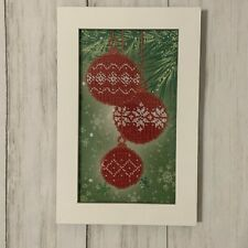 Christmas Gift Home Wall Decor Embroidery