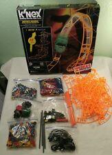 K'Nex Raptor's Revenge Roller Coaster Building Set Lots of Extra Pieces Knex