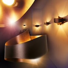 Applique Design Éclairage de salon Marron Lampe de corridor Lampe murale 142037