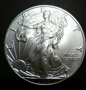 2020 1 OZ Américain Argent Aigle Pièce de Monnaie Gem Bu