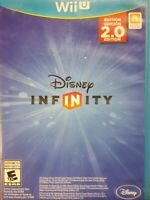 Disney Infinity -- 2.0 Edition (Nintendo Wii U, 2014) W/ Manual