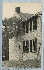 Winchester VA * 1790 Stone House with Catalpa Tree in Window ca. 1910 *