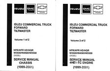 1999-2001 Isuzu NPR, NPR HD NQR GMC W3500-W5500 Diesel Truck Repair Manual