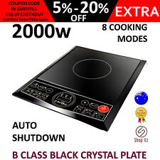 New SINGLE INDUCTION COOKTOP PORTABLE STOVE Plate Electric Kitchen 1 Burner