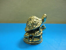 Wealth Turtle Rich Luck Good Business Charm Thai Amulet