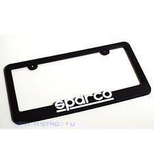 Sparco Official US Spec Car Racing License Plate Frame SP099FRAME Universal