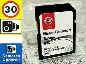 2020! NISSAN CONNECT 1 V10 MAPS LATEST SAT NAV SD CARD QASHQAI NOTE JUKE MICRA