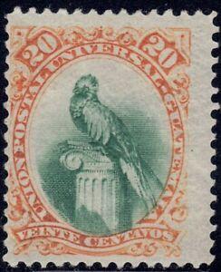 1881 Guatemala SC# 25 - Quetzal Bird - M-H