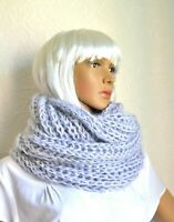 Hand knitted women's mohair snood - scarf