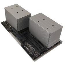 Apple A1289 Dual Intel Xeon Quad Core @2.26GHz CPU Tray With Heatsinks   630-940