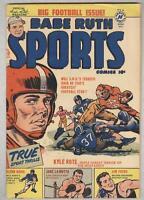 Babe Ruth Sports Comics #10 December 1950 VG Jake La Motta
