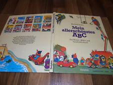 Richard Scarry -- MEIN ALLERSCHÖNSTES ABC // Bilder-Wörter-Geschichtenbuch 1985