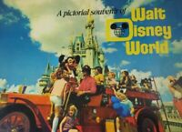 1974 Picture Souvenir of WALT DISNEY WORLD Color Disneyworld Vintage 36 pages
