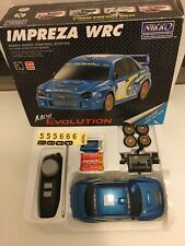 Very Rare Nikko  Subaru Impreza Mini Evolution Remote Controlled Car Must See!
