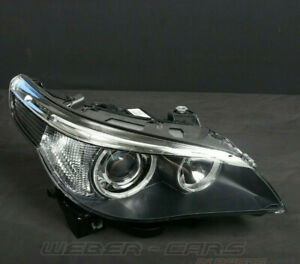 7165568 New Original BMW Bi Xenon Headlight Right 5er M5 E60 535d E61