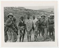 Second Italo-Ethiopian War - Vintage Publication 8x10 Photograph - War Prisoners