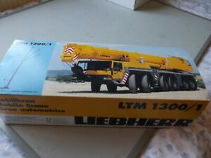 CONRAD LIEBHERR LTM 1300/1 MOBILE CRANE