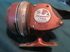 Vintage Shakespeare 1766 Model EE Push Button Fishing Reel (X7)