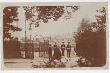 Entrance, Mill Hill Barracks, London, E.J. & H Clarke RP Postcard B741