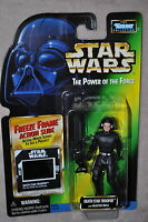 STAR WARS POWER OF THE FORCE DEATH STAR TROOPER BLASTER RIFLE FREEZE FRAME MOSC