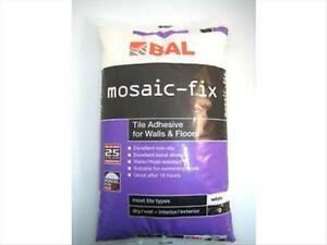 Mosaic-fix Mosaic Tile Adhesive 1kg. Extremely strong. Used inside or outside