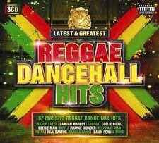 REGGAE DANCEHALL HITS-LATEST & GREATEST LATEST & GREATEST - CAPLETON - 3 CD NEU