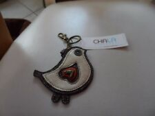horse keychain fob leather  in brown, tan by Chala Handbags 806HR0