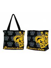 Couronne noire design amsterdam toile sac-gratuit uk p&p
