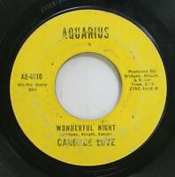 Hear! Northern Soul 45 Canace Love - Wonderful Night / Uh! Uh! Boy, That'S A No