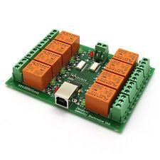 USB 8 Canaux Carte Relais / relays - USB relay board 12V