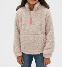 GAP KIDS 1/4 Zip Sherpa Crewneck Sweatshirt #49890-9