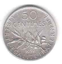 50 cts  Semeuse 1897