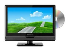 Megasat LED Fernseher CTV 16 Plus Wohnwagen TV Camping Boot 12/24V LKW schwarz
