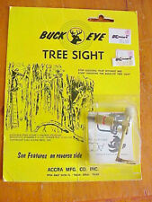 New Vtg Accra Buck Eye Tree Stand Sight Archery For Bow Hunting