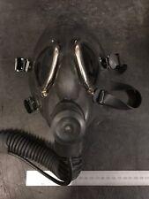 Aircrew Oxygen Respirator Black Adjustable Face Mask  Ex Raf Mod Gas Mask