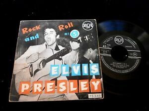 """ELVIS PRESLEY/ROCK AND ROLL N°5/RCA 75348/FRENCH EP 7"""""""