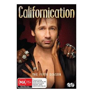 Californication: Season 5 DVD (2 Disc Set) Brand New Region 4 - David Duchovny