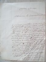1873 125) LETTERA DA CHATILLON (AOSTA) DAL CURATO VUILLERMET AUTOGRAFO
