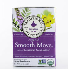 Traditional Medicinals Tea - Organic Smooth Move - Original - 16 Bags - Non-GMO